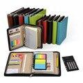 A5 A6 спираль вкладыш многоразового журнал путешествия мини мешок документа файл в папку портфолио портфель с застежкой-молнией калькулятор