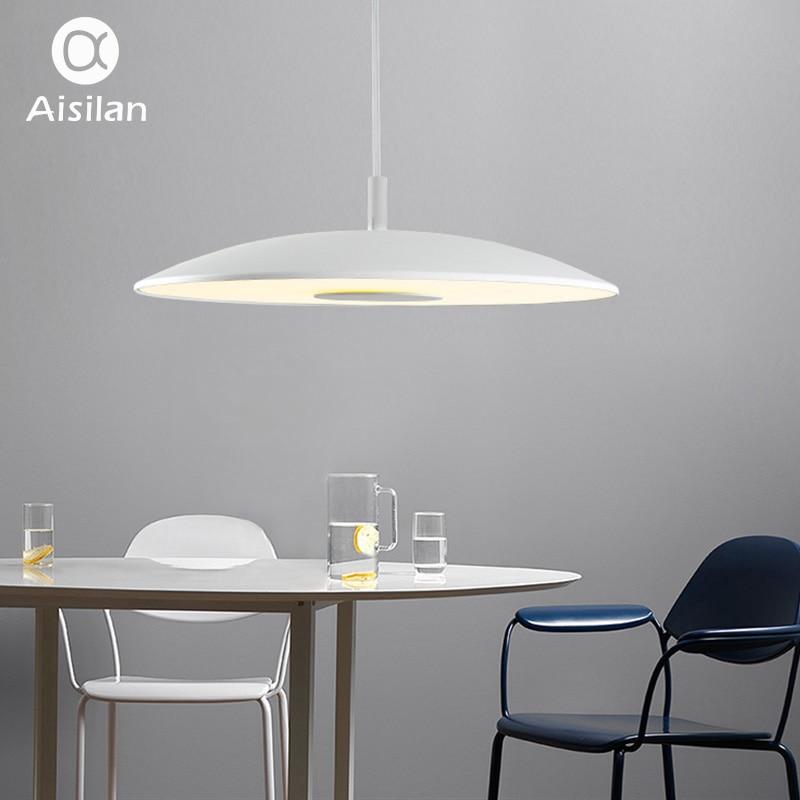 Aisilan Kitchen Nordic Fashion Simple Led Pendant Light