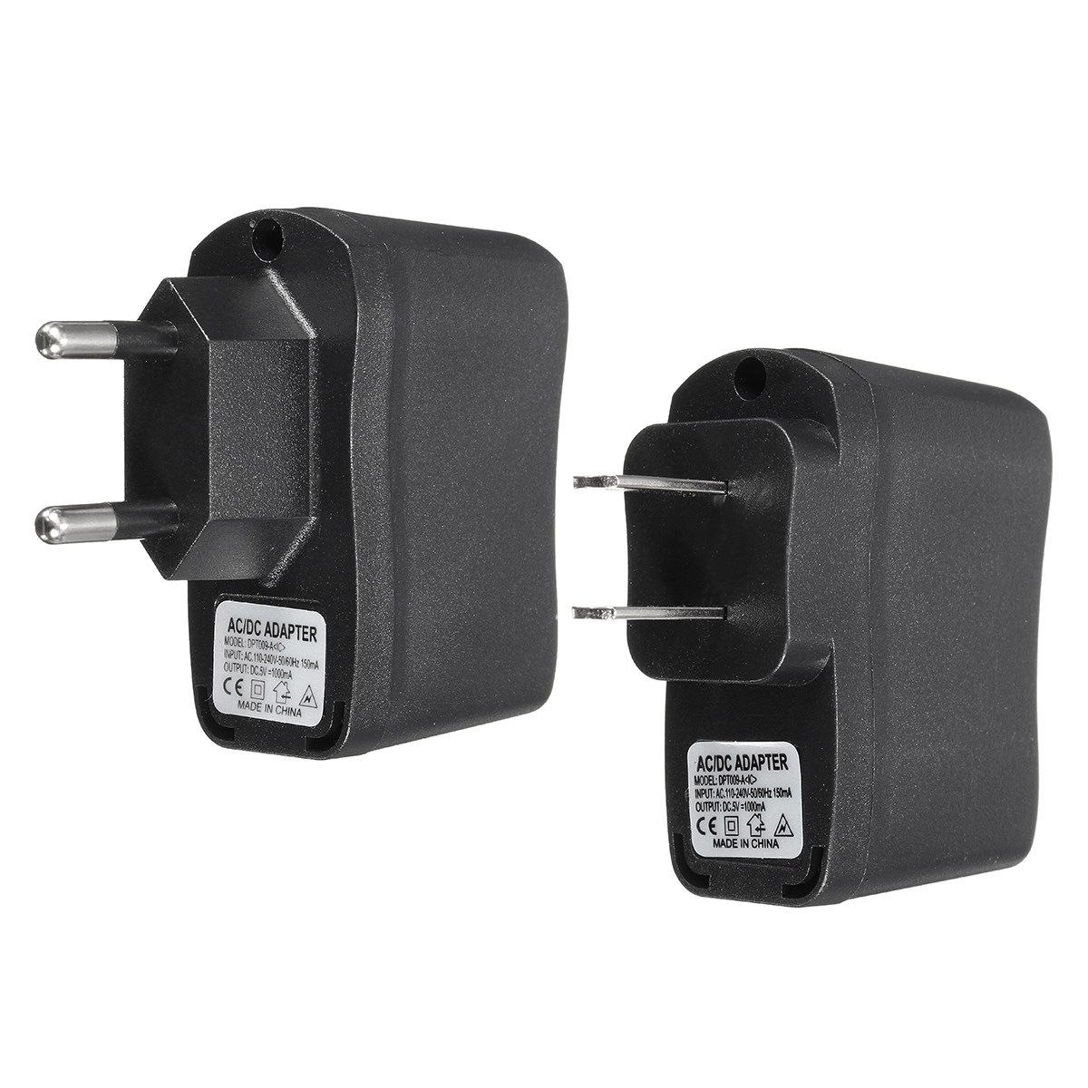2x Ac Converter Adapter Dc 5v Power Supply Wall Charger Us Dc 5 5mm X - Universal 5v 1a usb home travel wall charger ac dc adapter charging eu us plug usb power charger for mobile phone for xiaomi