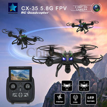 Cheerson CX-35 CX35 Drone 5.8G FPV With 2MP HD Ratatable Camera Height Hold Mode RC Quadcopter Low voltage protection Helicopter