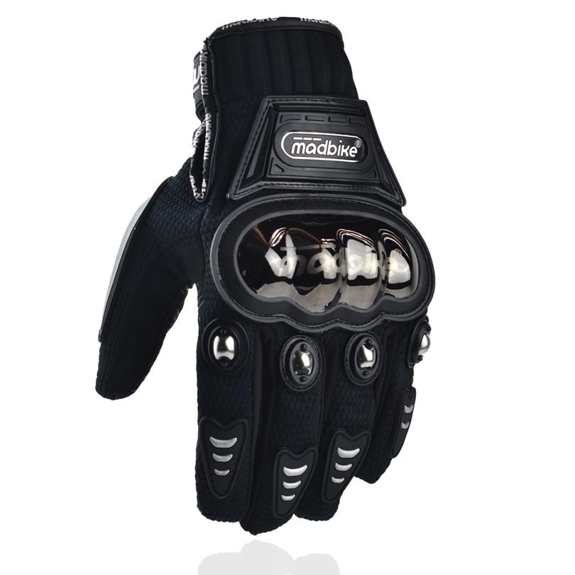 Madbike nyaste handske motorcykel racing vinter motorcykel handskar guantes para moto de invierno kvinnor rostfritt stål skydd