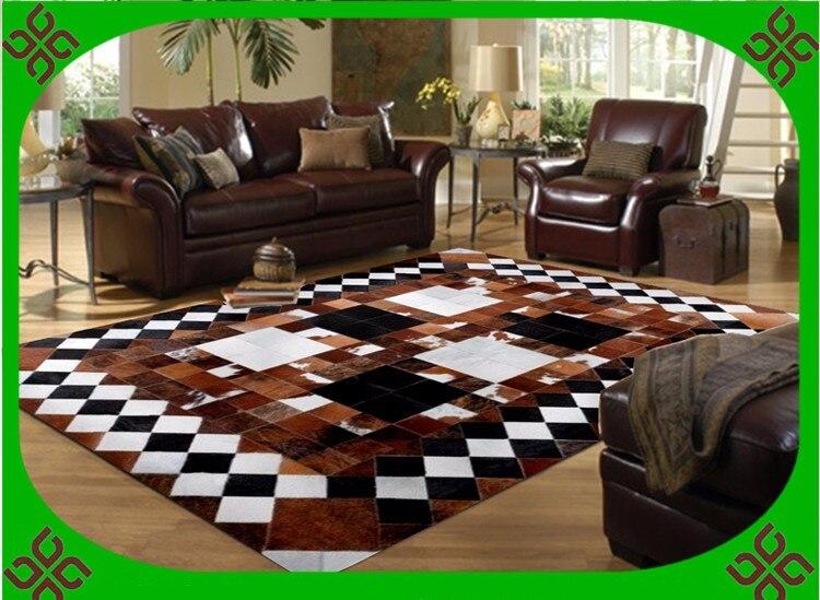 Fashionable art carpet 100% natural genuine cowhide leather natural grass carpetFashionable art carpet 100% natural genuine cowhide leather natural grass carpet