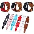 Original Kakapi Cuff pulseira pulseira de couro genuíno para Apple faixa de relógio cinta larga de pulso para iWatch com adaptadores 38 MM 42 MM
