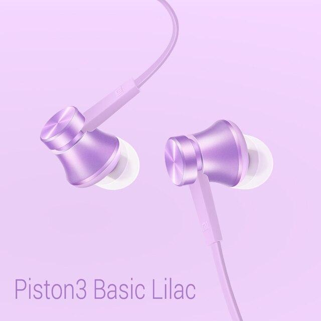 Original Xiaomi Piston Basic Edition Generation 3rd Earphone Series Headset In-Ear Reddot Design Award apperance