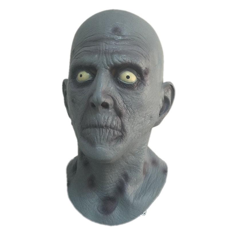 New Arrivals Terror Old Man Latex Mask Halloween Rubber Fancy Dress Head Horrible Realistic Masks Carnival Costume Fancy Dress