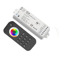 New Led RGB +CCT Strip Controller 2.4G RF Remote Wireless 3A*5CH Output DC12V-24V 1 zone RGB CCT Led Strip Controller V5-M+RT5