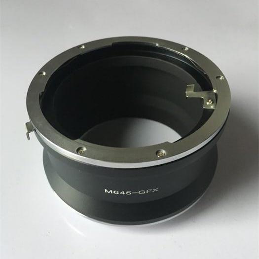M645-GFX Adapter for Mamiya 645 Mount Lens to Fujifilm GFX Medium Format Camera fd gfx adapter for canon fd mount lens to fujifilm gfx 50s medium format camera