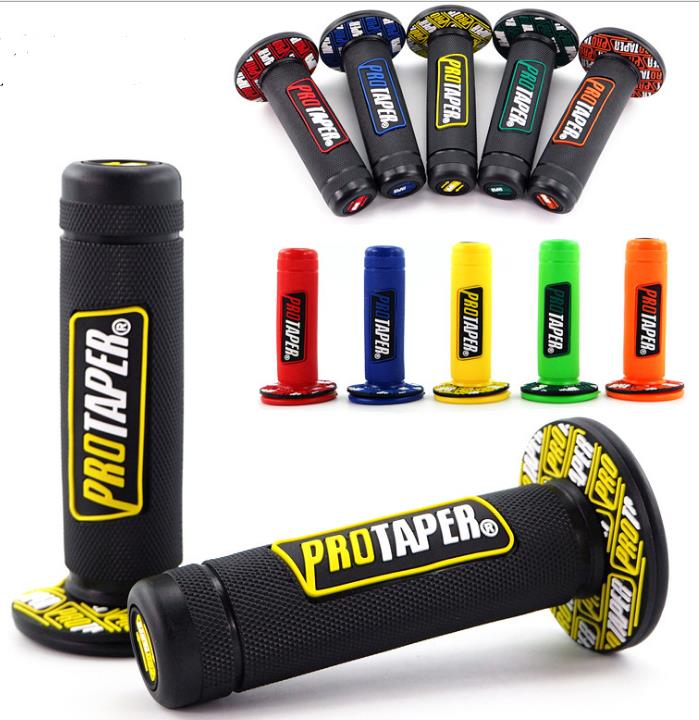 Motorcycle Protaper Grips Motocross Grip Handle Bar DIRT PIT BIKE 7/8