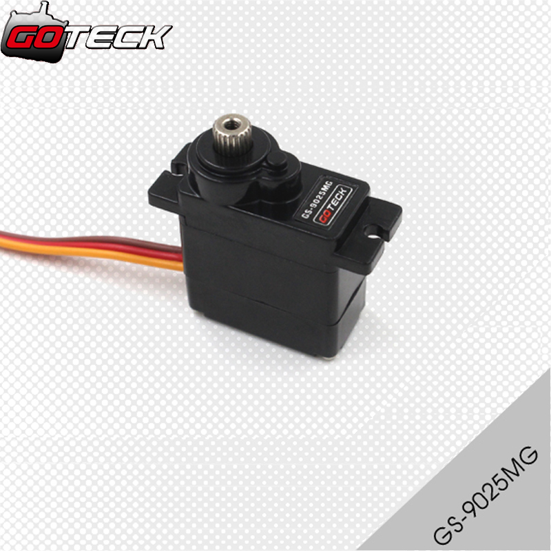 4pcs/lot Goteck GS-9025MG High Quality 9g Metal Gear Servo SG90 For RC 250 450 Helicopter plane Airplane boat car4pcs/lot Goteck GS-9025MG High Quality 9g Metal Gear Servo SG90 For RC 250 450 Helicopter plane Airplane boat car