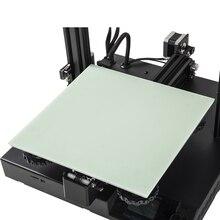 3d принтер Часть CR-10s/Ender-3 кровать съемная пластина 3D Платформа для печати с подогревом кровать строительство поверхности 235×235/310*310 мм для горячей кровати