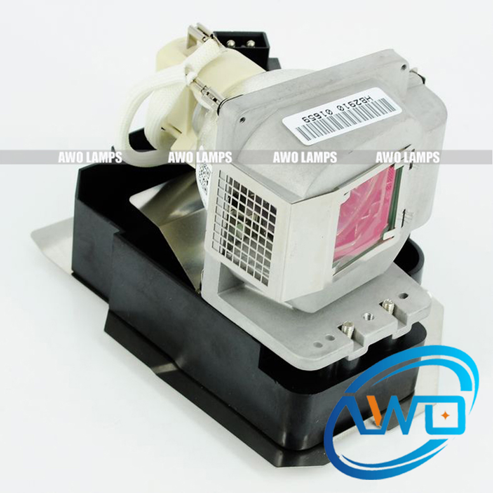 AWO Compatible Projector Lamp VLT-XD510LP with Housing for MITSUBISHI EX50U/EX51U/SD510U/WD510U/WD510UST/XD510/XD510U/GW-365 awo compatibel projector lamp vt75lp with housing for nec projectors lt280 lt380 vt470 vt670 vt676 lt375 vt675