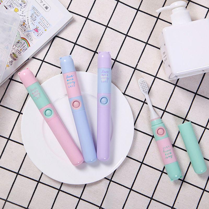 Crianças dos desenhos animados escova de dentes