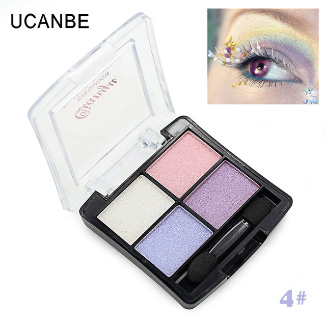 Fashion 4 colors glitter eye shadow