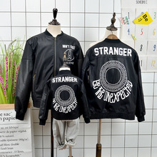 New Family of Three Clothes Childrens Clothing  Outerwear Jacket Matching Outside Design Fashion Cute