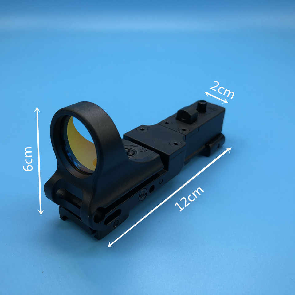 Tactische Red Dot Scope Ex 182 Element Seemore Railway Reflex C-MORE Red Dot Sight 6 Kleur Optics Hunting Scope Voor airsoft