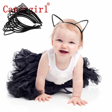 10pcs Sexy Cat Ears Headbands Plastic Hair Hoop Accessories Women Kids Girls Head Band Birthday Party Supplies
