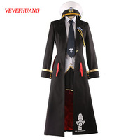 VEVEFHUANG Game Azur Lane Enterprise B Cosplay Costume Azur Lane Cosplay Costume Custom Made Full Set Cosplay Costume Halloween
