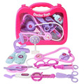 Doctor Toys Simulation  Medical Toolbox Children Doctor Kits Toys Stethoscope Educational Boys Girls Play Toys, Classic Models