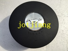 Airbag cover for Mustang wild horse steering plate cover, free shipping logo, free shipping!