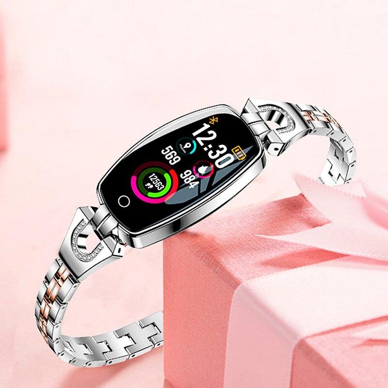 Bracelet montre intelligente femmes montres dames marque de luxe Sport Style montre-Bracelet femme montre-Bracelet pour femmes horloge Hodinky Reloges