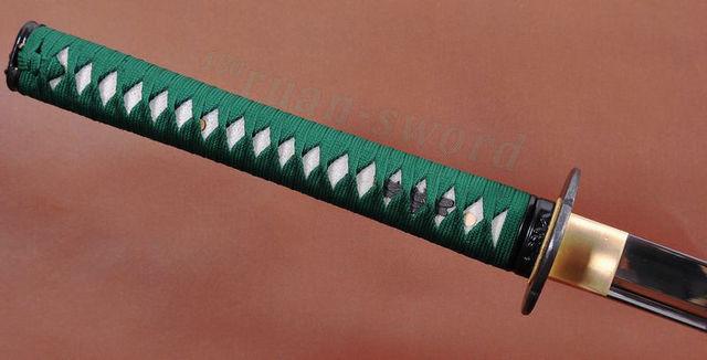 100%HANDMADE 1060 CARBON STEEL JAPANESE SAMURAI NINJA SWORD FULL TANG BLADE