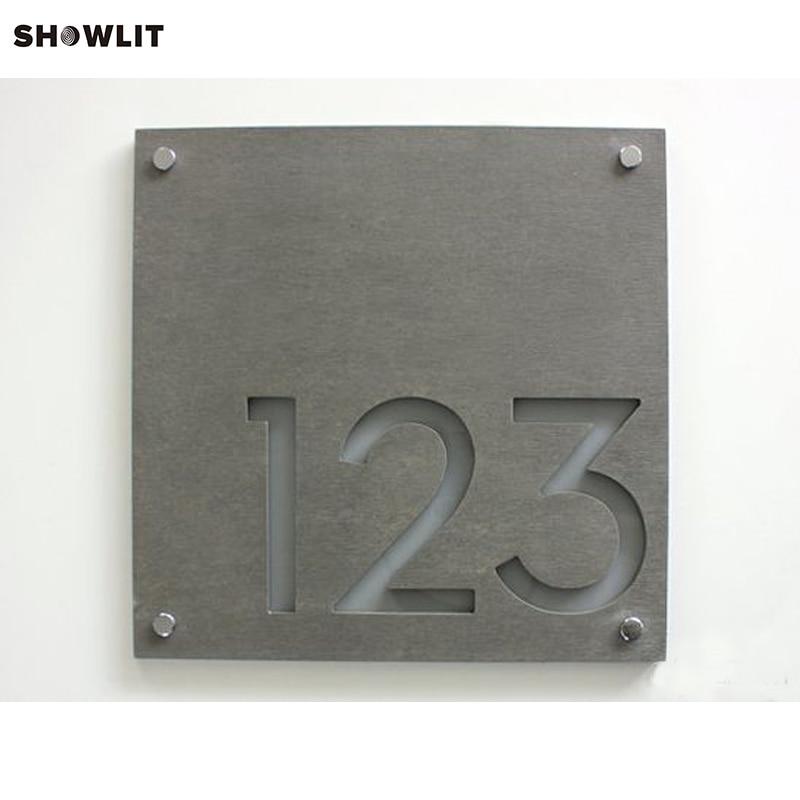 Laser Cut Custom Made House Numbers Door PlatesLaser Cut Custom Made House Numbers Door Plates