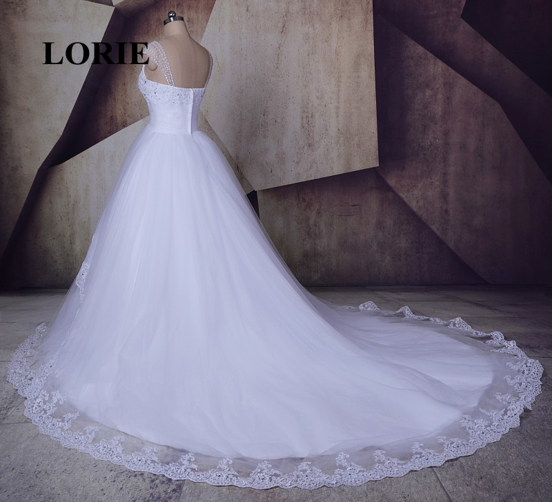 LORIE Vintage Victorian Wedding dress Sweetheart Beaded Ball Gown ...