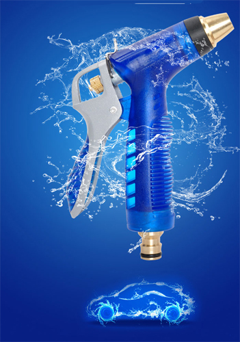 Copper Hose Watering Guns Gardena Arma Karcher Garden Car Water Gun Water Hose Sprayer Automotivo Water Nozzle pistol 7 Modes