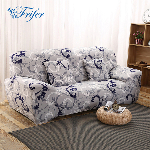 Printed Sofa Cover Furniture Slipcover Slip Resistant Spandex Stretch Sofa  Covers For Living Room Single