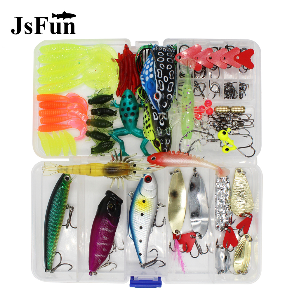 147PCS Fishing Lures Kit Mixed Swivel Spinner Grip Hooks Fish Lures Set In Storage Box Isca Artificial Bait Fishing Tackle L191 fishing lures tackle bait hooks usb rechargeable twitching lures bait usb recharging cords precious fishing accessorie a1