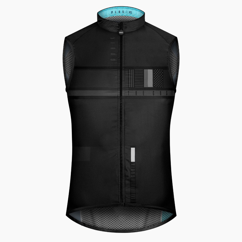2018 newest PRO TEAM CYCLING WINDPROOF BIKE VEST superlight cycling Gilet mesh fabric at back Ropa