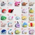 5pcs/lot High Quality Tsum Tsum Cute Stuffed Toy Japan Keychain Mini Phone Screen Cleaner 7-9cm Pendant