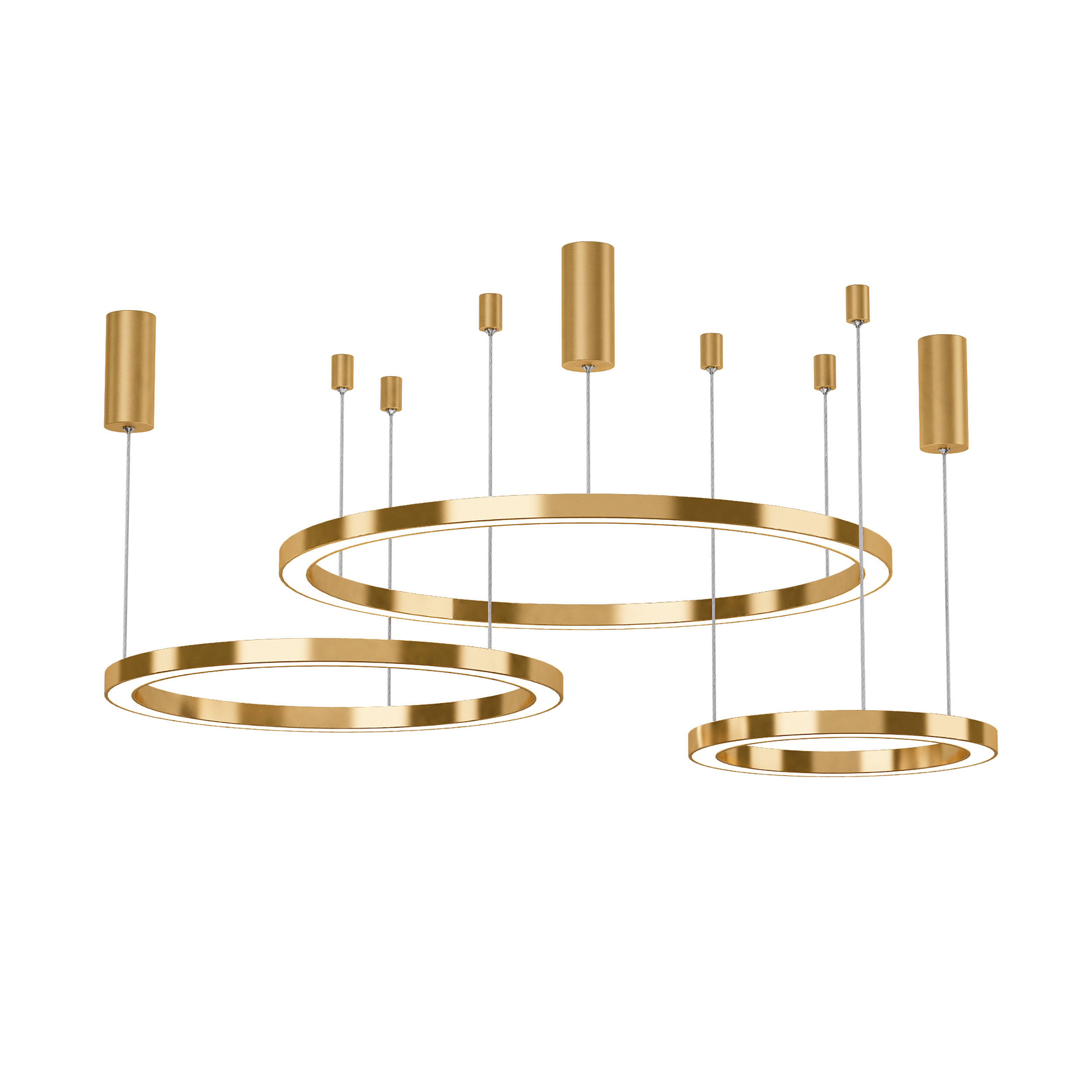 Postmodern Luxury Pendant Lights Brief 2019 New Nordic Style Art Hanglamp Creative Ring Living Room Lustre Pendant Lamp Lighting