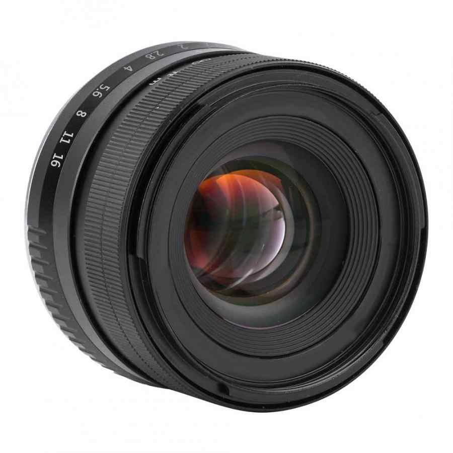35 мм f1.2 ручной фокус Prime APS-C алюминиевый Объектив для Fujifilm для Fuji X Mount беззеркальная камера