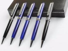 high grade business ballpoint pen cute school prize gift student ballpoint pen metal sign pen office writing pen 36pc/lot