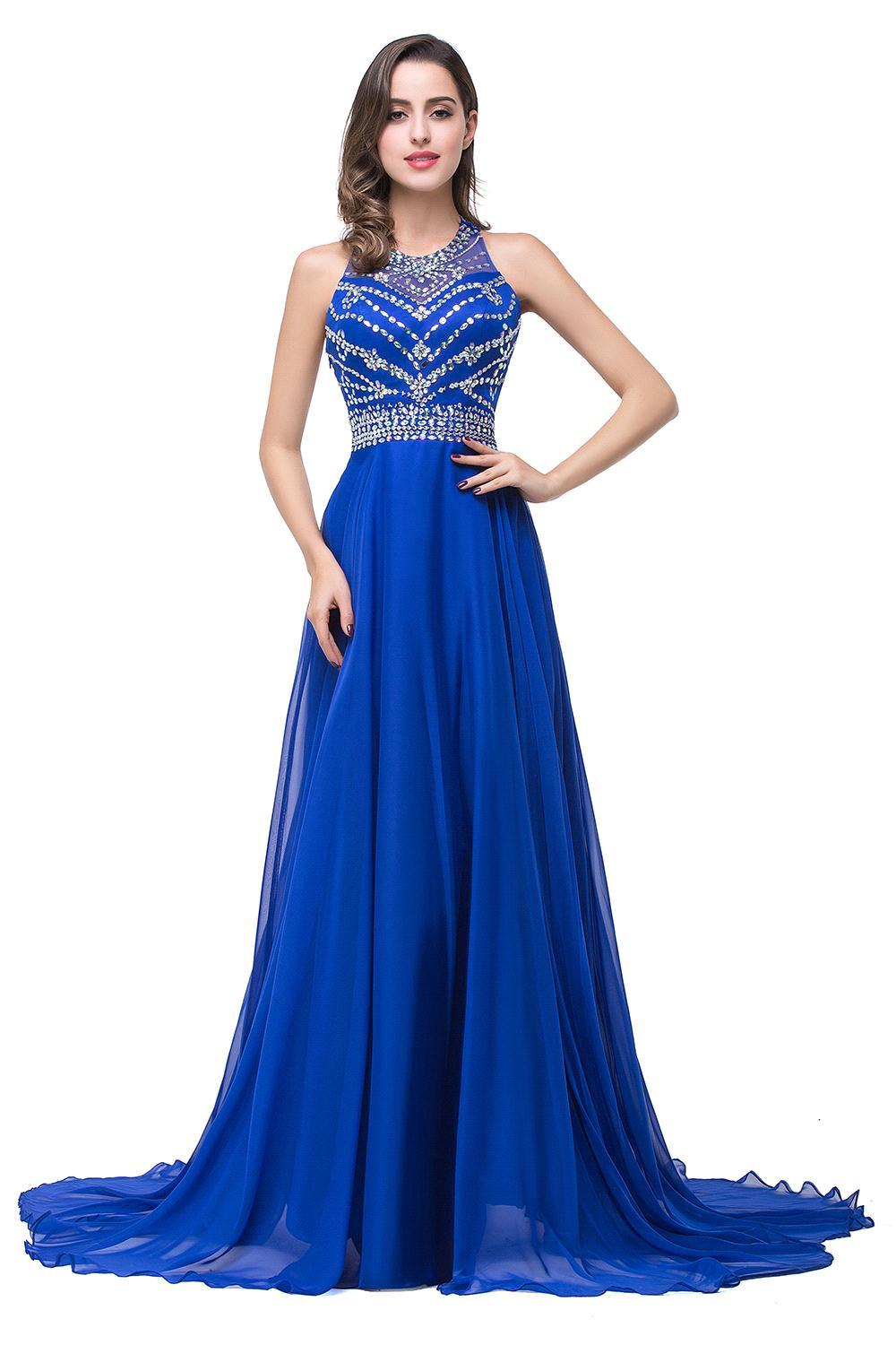 Online Get Cheap Royal Blue Sequin Dress -Aliexpress.com | Alibaba ...