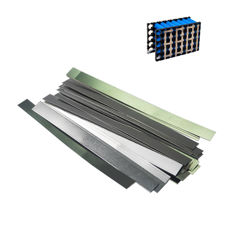 100pcs Nickel Strip Nickel Plated Steel Strip For Spot Welding Machine Spot Welding 18650 Lithium Battery Pack Connection Plate