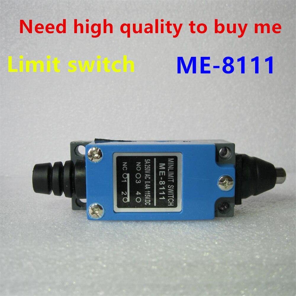 AC 250V 5 Amp DC 115V 0.4 Amp ME-8111 Momentary Plunger Enclosed Limit Switch