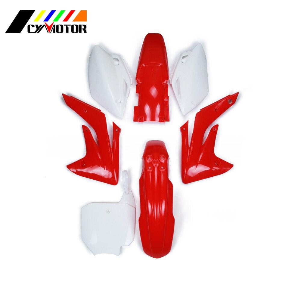 Plastic Body Kit Fairing Front Rear Fender Mudguard For HONDA CRF150R CRF150 R CRF 2007 2008 2009 2010 2011 2012 2013 CRF150RB