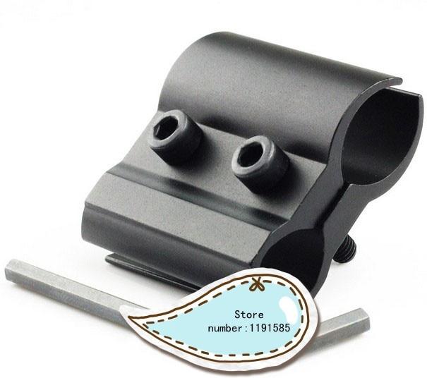 Tactical 25mm Sight Ring Flashlight Torch Scope Laser Shotgun Rifle Barrel Mount
