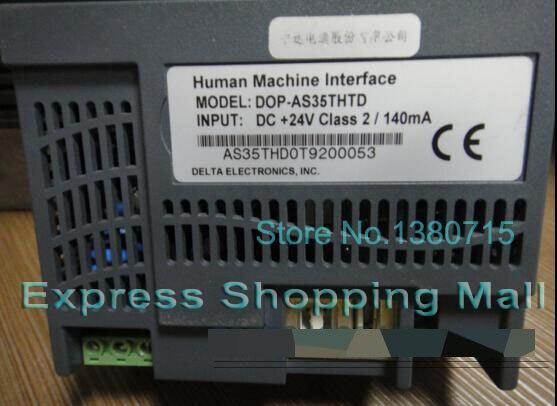 Original HMI Human Machine Interface DOP-AS35THTD Touch Screen Panel DELTA original hmi human machine interface panel f940got lwd c