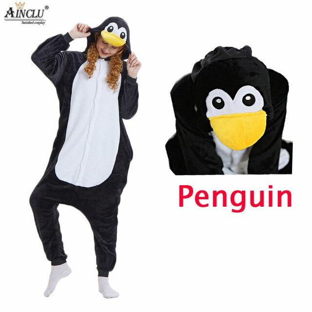 De Negro Con Animales Zapatos Kigurumi Fiesta Pijamas Pingüino qzpMUSV