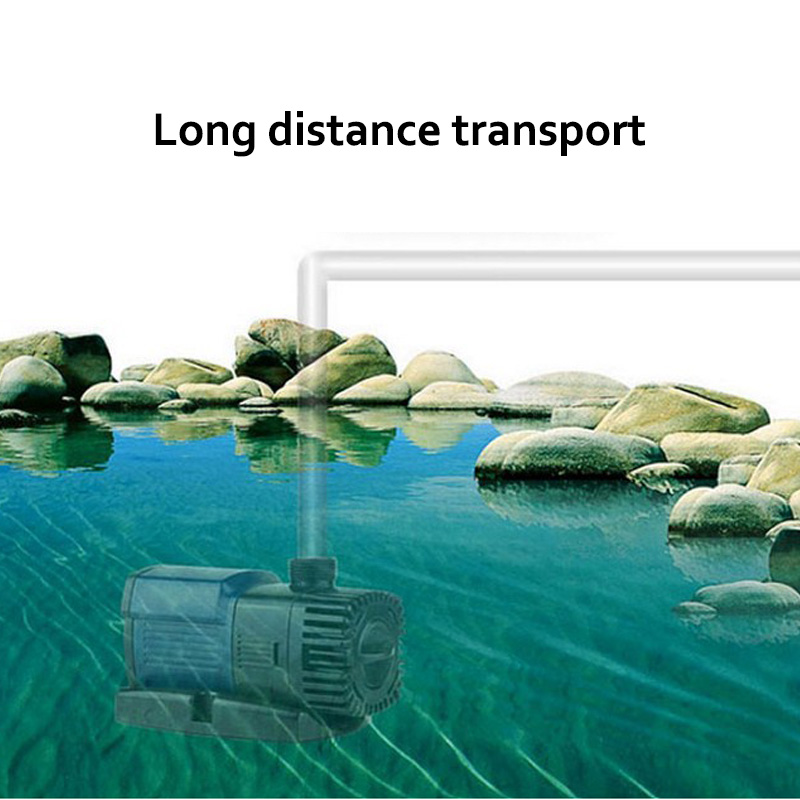 Aquarium Water Pump 220V Aquarium Pump Aquarium Fishing Variable Frequency Submersible Pump Fountain Pump Aquarium Filter (8)