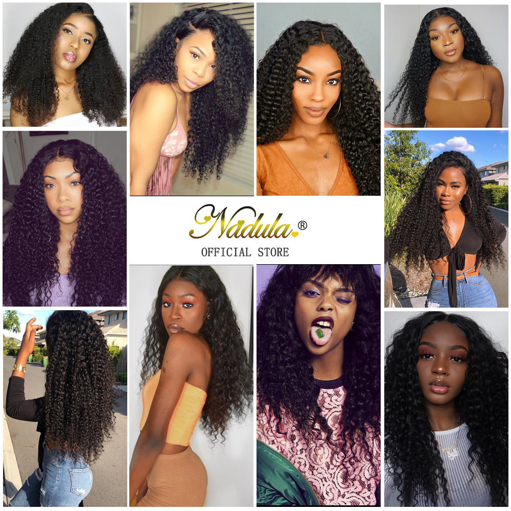 Image 5 - Nadula Curly Human Hair Wig 13*4/6 Brazilian Wigs Lace Front Remy Hair Swiss Lace Frontal Wig Natural Hairline With Baby Hair-in Human Hair Lace Wigs from Hair Extensions & Wigs