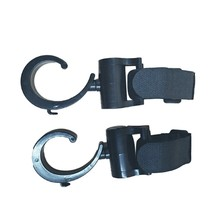 2pcs/lot Baby Stroller Accessories Hook Multifunction Black High Quality Plastic Hooks New Arrival