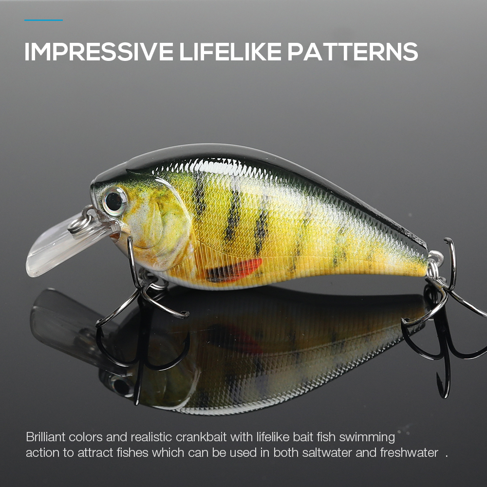 Image 3 - 7cm 15g Top Quality Swimbait Crankbait Fishing Lure Hard Bait with 3d Eyes Japan Floating Popper Fishing Wobblers Croatian Egg-in Fishing Lures from Sports & Entertainment
