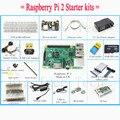 Raspberry Pi 3 Modelo B 1 GB RAM Quad Core 1.2 GHz Completo Starter Kit Kit caixa de cabo placa de ensaio placa de leds Pi pi Sapateiro Fuga KIT021
