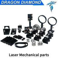 CO2 Laser cutting engraving machine Parts Hardware Transmission Laser head Mechanical Components Tube holder motor base reducer