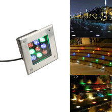 3W 36W LED Underground Path Light Yard Garden Landscape in-Ground Well Lights High Power Outdoor Decor Spotlight IP67 Waterproof the well path