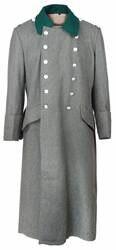 WWII German WH M36 поле серое шерстяное пальто